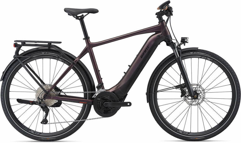 GIANT Explore E+ 1 Pro GTS M metallic brown / black satin-matt-gloss