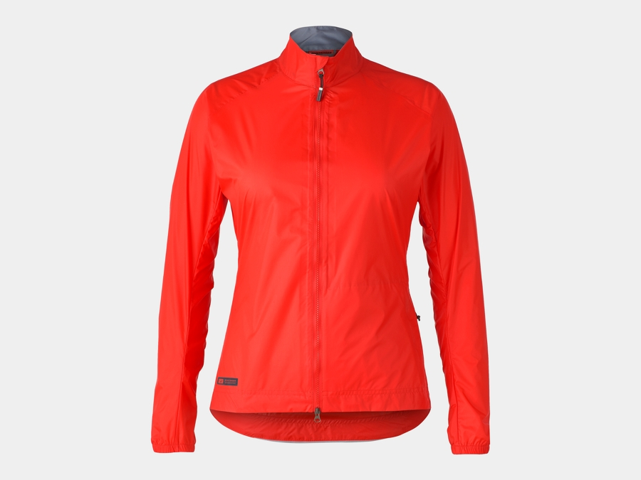 Bontrager Jacket Circuit Rain Women Small Radioactive Red