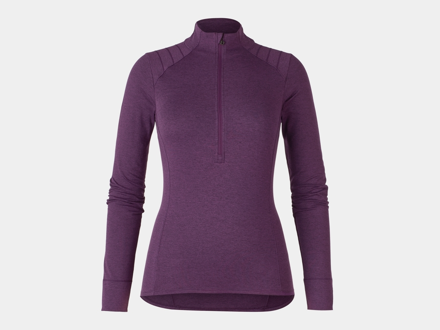 Bontrager Trikot Vella Thermal Long Sleeve M Mulberry