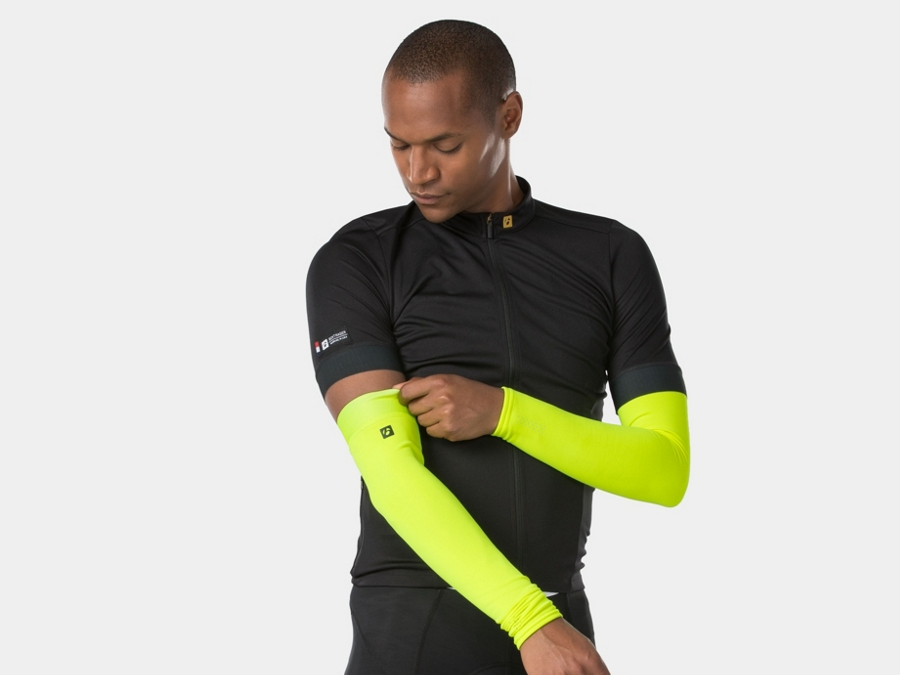 Bontrager Warmer Thermal Arm X-Large Radioactive Yellow