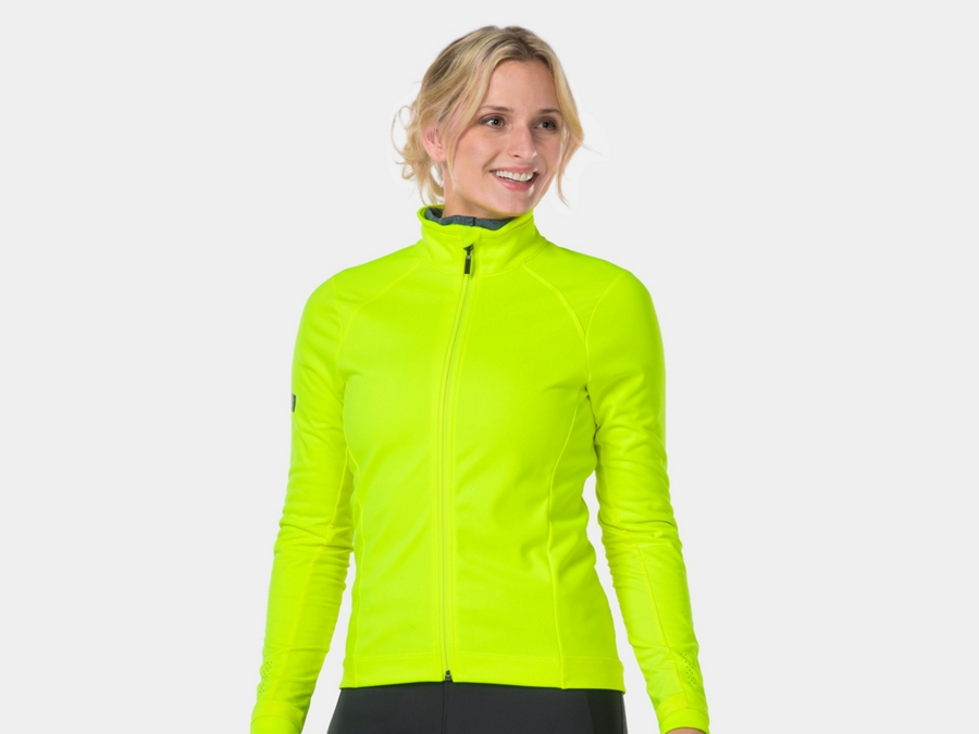 Bontrager Jacket Velocis Softshell Women M RadioactiveYellow